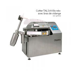 Cutter a viande horizontal 80 litres TALSA K80neo