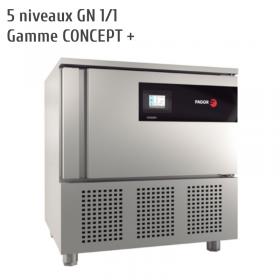 Cellule de refroidissement - surgélation 5 niveaux FAGOR CONCEPT + - cellule mixte