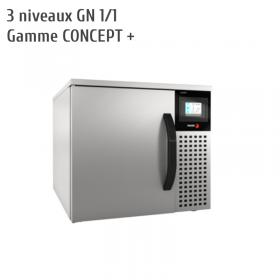 Petite cellule de refroidissement surgélation 3 niveaux FAGOR - cellule mixte ATM-031 CD