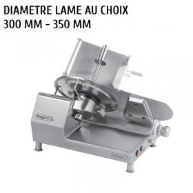 Trancheuse a jambon professionnelle dadaux gravinox 300 - 350 mm