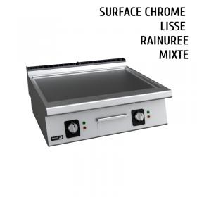 Plancha chrome dur électrique 80 cm FAGOR
