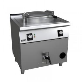 Marmite de cuisson professionnelle 80 litres gaz FAGOR - marmite collectivité - marmite industrielle
