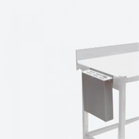 Porte couteaux inox mural ou sur table
