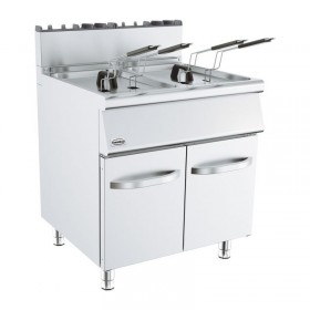 Friteuse double bac pro 2x15 L combisteel